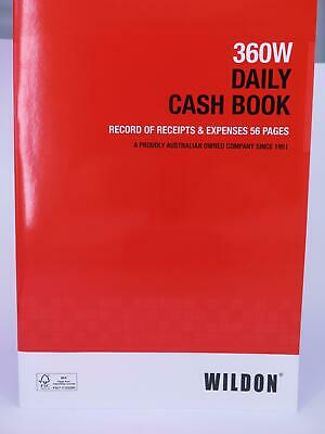 Wildon DAILY CASH BOOK 360W WIL360