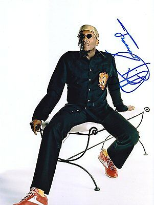 Jimmy Cliff Very Rare Amazing In Person Signed W/proof !!!