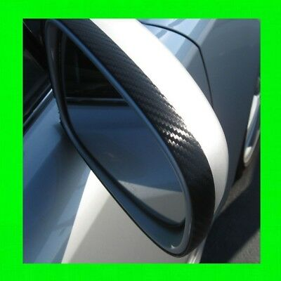 Porsche Carbon Fiber Side Mirror Trim Molding 2Pc W/5Yr Warranty