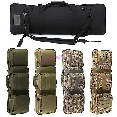 UK Tactical Hunting Shooting Padded Carry Case Air Rifle Gun Slip Bag 5 Colors