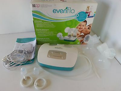EvenFlo Advanced Double Electric Breast Pump Perfect Feeding 2951 Nursing Baby