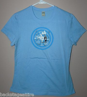 Weezer Groupie Babydoll Baby Doll Rivers Cuomo Medium Tour T-Shirt Tshirt-New!!