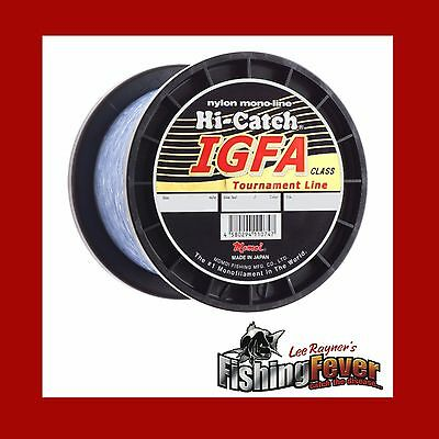 Momoi Hi- Catch High Vis Blue Game Fishing Line 10 - 24kg 1000m At FISHING FEVER
