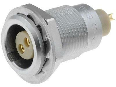 EGG0B302CLL Connector circular socket soldering for panel mounting