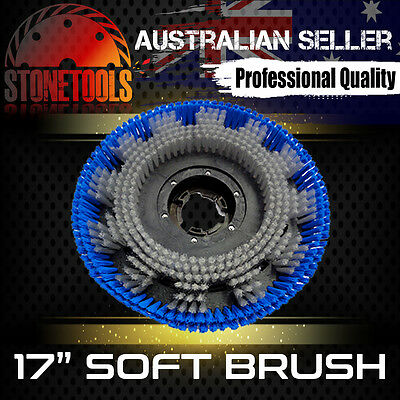"17"" Soft Brush for Floor Polisher Buffer Scrubber Cleaner"