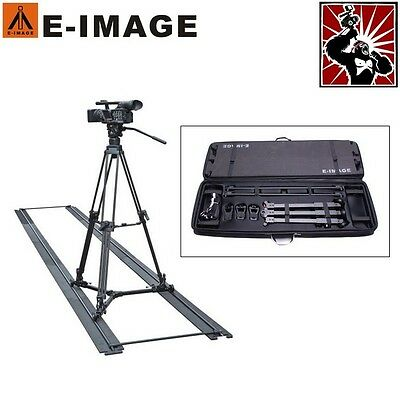 Professional Portable Camera Dolly with Track & Carry Case for Video Tripod DSLR