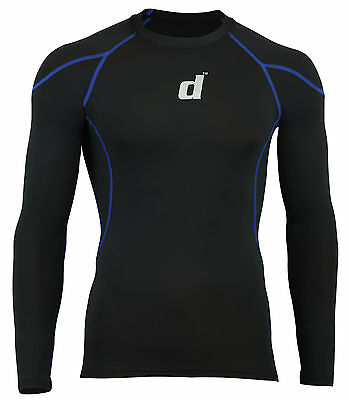 Didoo New Men's Compression Base Layer Tops Full Sleeve Tight Fit Jerseys 2016