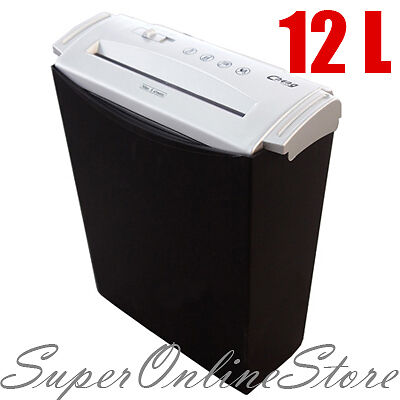 New Paper Electronic Auto Shredder With Waste Basket