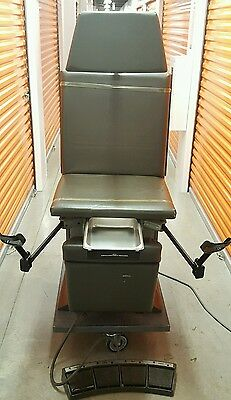 Ritter Midmark 119 Power Adjustable Surgical Exam Table Medical Procedure Chair
