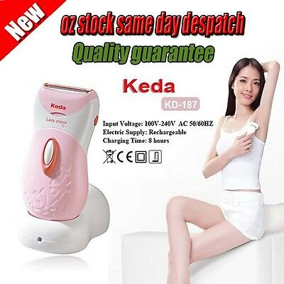 new Rechargeable Wet & Dry Lady Shaver Shaving Trimmers Body Hair Removal Shave