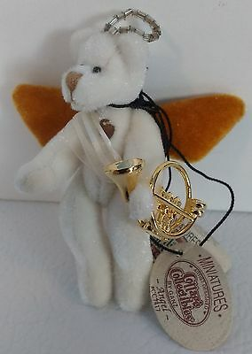 NEW GANZ Miniature Angel Bear Cottage Collectibles Jointed