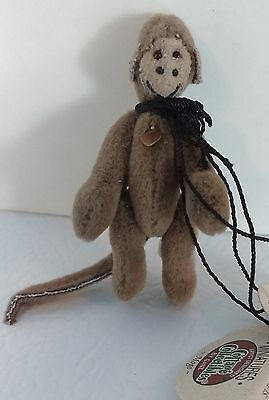 NEW GANZ Miniature Monkey MOGO Cottage Collectibles Jointed Retired