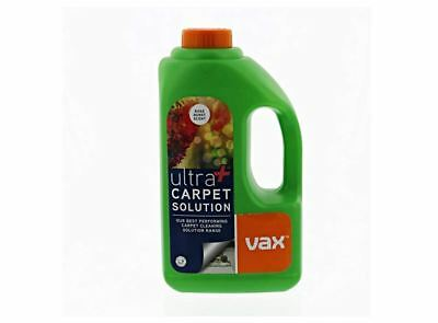 Vax New Ultra+ Carpet Cleaning Solution 1.5 Litre Fast Free Delivery - Brand New