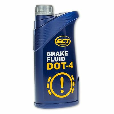 DOT 4 Quality Synthetic Brake And Clutch Fluid 1 litre SCT Germany ( Mannol )