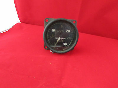 Original ww2 Gauge for WARTIME Aircraft Bomber - MK ID 1940