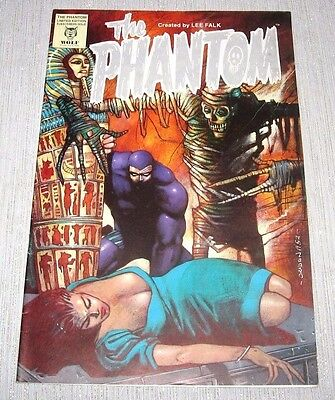 Rare 1993 Limited Edition The Phantom Lee Falk Comic - The Ghost Who Walks Book