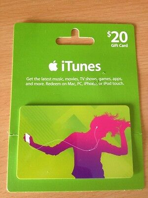 $20 iTunes Gift Card AU Store *NEW!!*