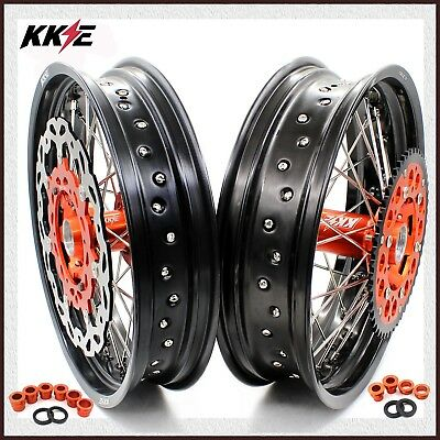 Kke 3.5/5.0 Complete Wheels Set For Ktm Sx Sxf Exc Exc-F Xcw 250 300 450 530