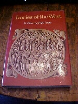 1979 HB Book, IVORIES OF THE WEST; 71 PLATES IN FULL COLOR by MASSIMO CARRA