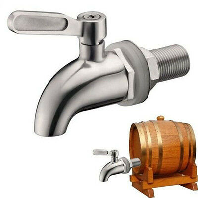 304 Stainless Steel Beverage Drink Dispenser Wine Barrel Spigot/Faucet/Tap R