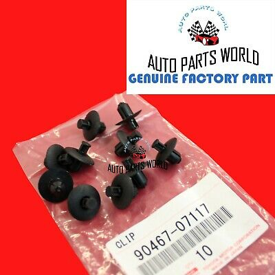 10pcs Car Engine Side Cover Clips Retainer #90467-07117 For Toyota ES IS Lexus