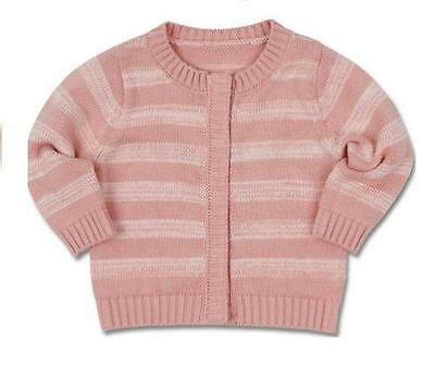 Baby Jacket Heavy Knit Cotton by Max and Tilly Coat Infant Girl Winter Clothes