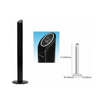 Oscillating Tower Fan Remote Control Cooling Home Office Portable Tall Slim Air