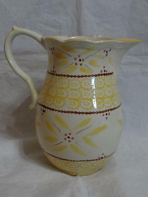 Temp-Tations Presentable Ovenware Old World 1.5 Qt Yellow Pitcher