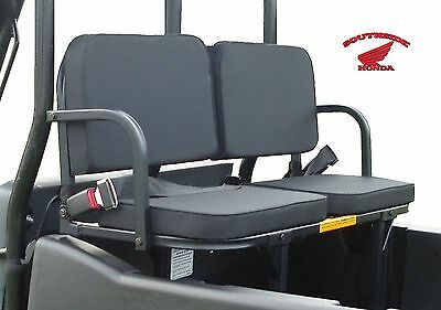 Polaris Ranger  Rear Rumble Seat  Standard Black