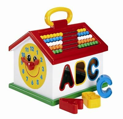 Activity House Sorter with ABC & 123 Shapes by Megcos
