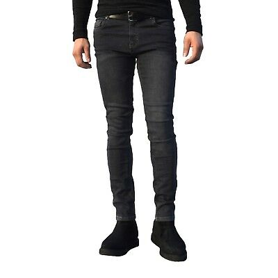 Mens Jeans Boys Denim Super Stretch Skinny Slim Fit Jeans Pants Designer Trouser