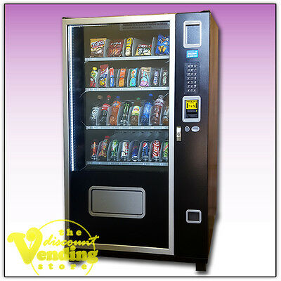 NEW Cosmic 1316 Glass Front Combo Vending Machine