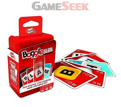 Shuffle Boggle Slam Card Game - Toys/games Family Brand New Free Delivery