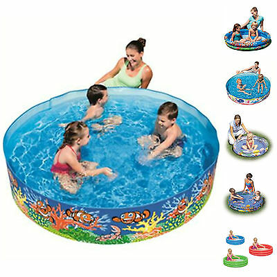 Childrens Paddling Pool Kids fun swimming summer Inflatable Pools Various sizes