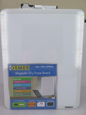 Osmer A3 Magnetic Whiteboard 355x280mm OW3528
