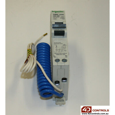 Schneider 26861 1P+N 32A 30mA RCCB With Overcurrent protection - New Surplus ...