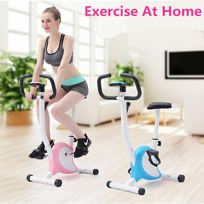 Magnetic Fitness Cardio Workout Exercise Bike Weight Loss Machine UK #HT