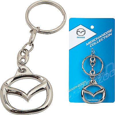 New Mazda Symbol Keyring Gift Accessory Mazda badge Key ring Key Chain