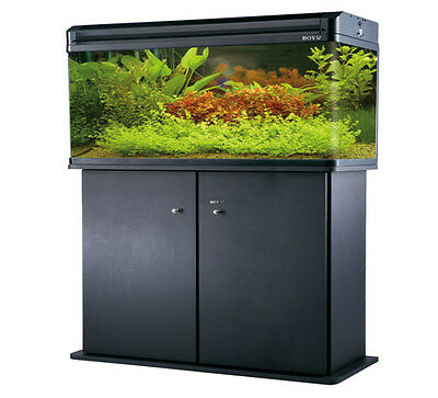 Aquarium tank 1000mm 125 litre with fitted Black Cabinet