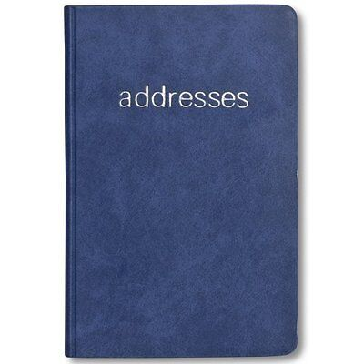 Plan Ahead Small Telephone/Address Book, Smooth Cover, Assorted Colors #5YT