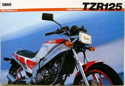 YAMAHA TZR125 (2RM) - Motorcycle Sales Brochure - 1980s - #8703-50D(A)-011067