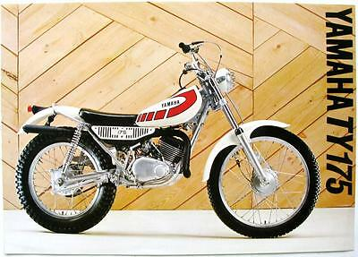 YAMAHA TY175 - Motorcycle Sales Sheet - 1977 -#LIT-3MC-0107034-77 E/52