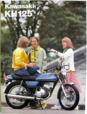 KAWASAKI KH 125 A2 - Motorcycle Sales Sheet - late 1970s - #99980-013-19