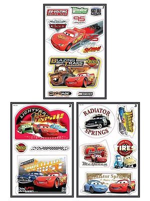 Disney Cars Quick Sticks Stickers 36 Pieces Included Kids Bedroom New Free P+P