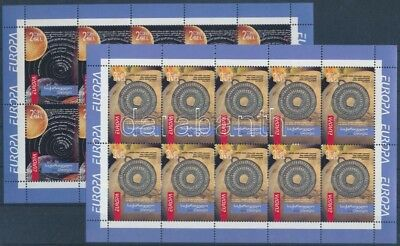 Georgia stamp Europa CEPT Astronomy mini sheet set 2010 MNH Mi 587-588 WS189534