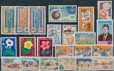 Niger stamp 22 diff stamps 1964 MNH WS188822