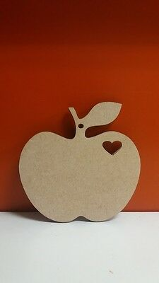 Pack of 6 100mm APPLES Need FREE holes JUST ASK Teacher Sign Christmas tree #01