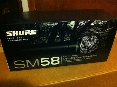 SHURE SM58-LC SM 58 Dynamic Vocal Professional wired Microphone - Free shipping!