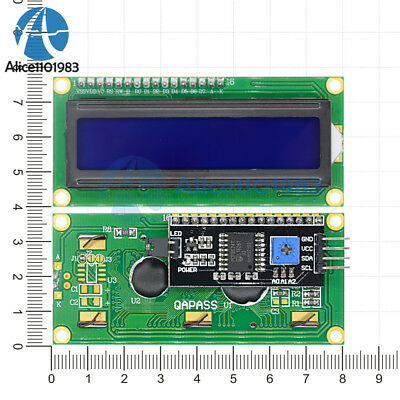 5PCS IIC/I2C/TWI/SP​​I Serial Interface1602 16X2 LCD Module Display Blue