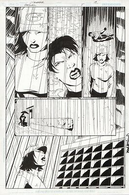 Batgirl Original Art by Jim Calafiore Issue 5 Page 19